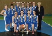 Vilniaus kolegijos merginų krepšinio komanda iškovojo čempionių taurę