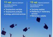 Kviečiame į diplomų teikimo šventę